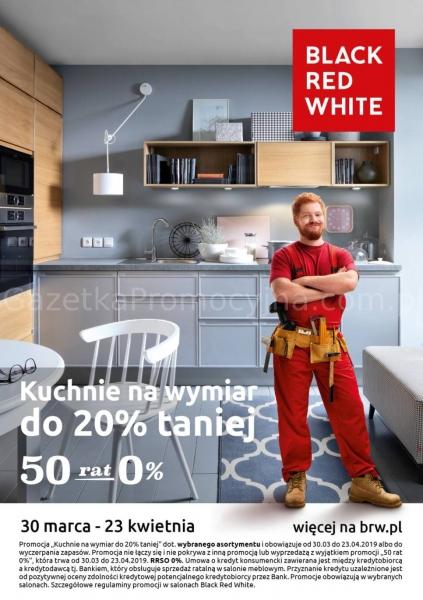 Black Red White Kuchnie Na Wymiar Do 20 Taniej Od 3003